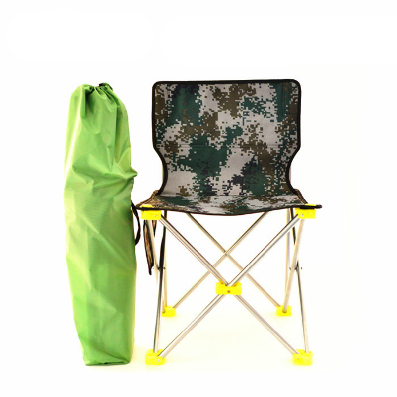 Fishing Chairs Ultralight Portable Outdoor Folding Sketch Chair Camping Backrest Fishing Chair Folding Stools With Delivery Bag