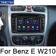 For Mercedes Benz E Class W210 1995~2003 NTG Android Car DVD GPS Radio Navi MAP Multimedia player system WIFI HD Screen все цены