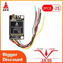Akk FX2-ultimate-mini 25mw/200mw/600mw/1200mw potência switchable suporte osd configurando atualizado versão de longo alcance