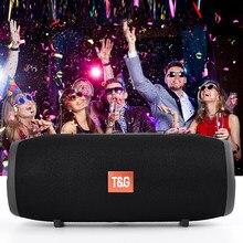 TG118 – haut-parleur Bluetooth 40w, Radio FM Portable, Enceinte puissante, caisson De basses, Boombox colonne