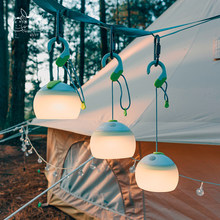 USB Charging Campsite Light Camping Tent Light Battery Chargeable Lantern Waterproof Mini Lamp Emergency Bbq Hiking Fishig Light