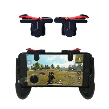 Joystick Grip Triggers Mobile-Game pubg mobile controlle gamepad D9 L1 R1 Key L1R1 Shoote For iPhone Android Phone PUBG games