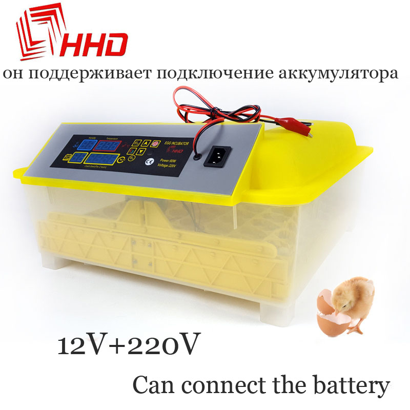 Бесплатная доставка цифровой Брудер дешевый полностью автоматический куриный утиный термостат для яичного инкубатора для инкубатора 48 пе