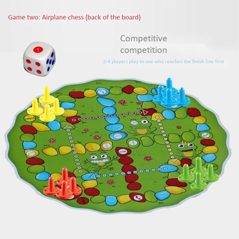 Quebra-cabeça educação jogo criança detetives olhando carta
