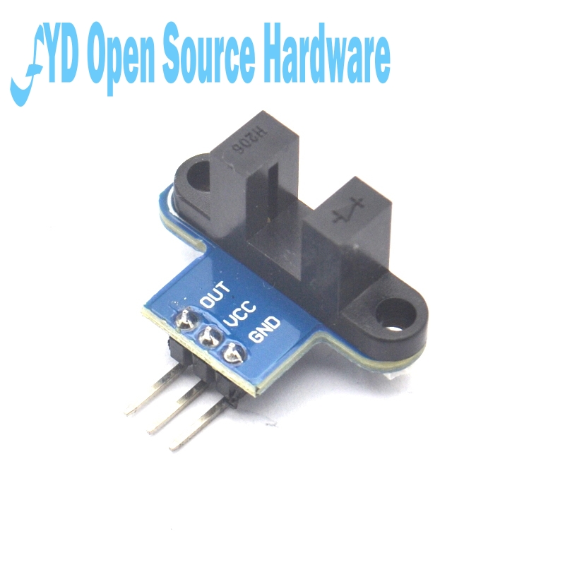 5PCS IR Infrared Slotted Optical Speed Measuring Sensor Detection Optocoupler Module For Motor Test