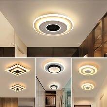 Современная потолочная светодиодная лампа блеск черно белая