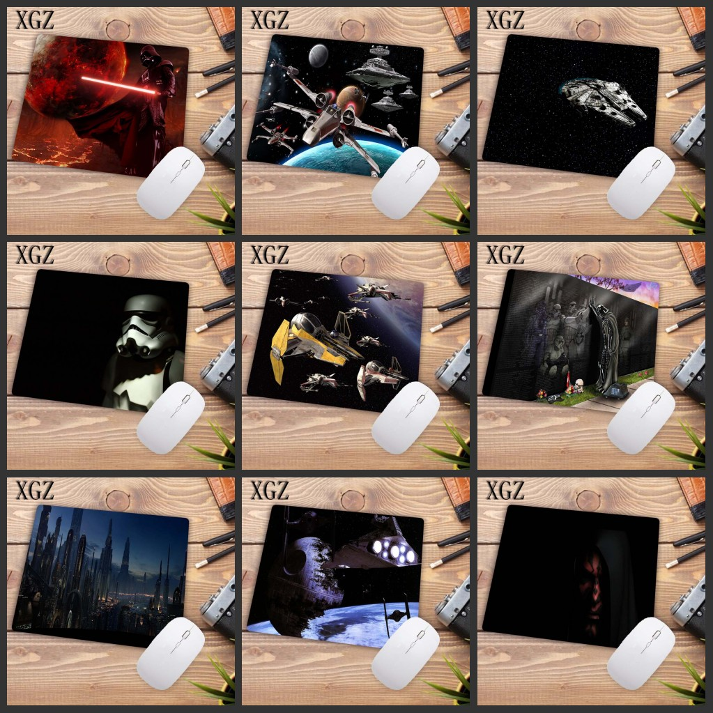 XGZ High Quality Star Wars High Speed New Gaming Speed Mousepad Small Size Computer Desktop Game Mouse Pad 22X18CM Big Promotion