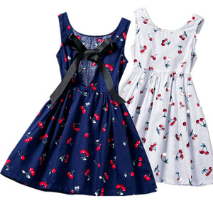 Kids Girl Dress 2020 Sleeveless Print Casual Clothes Floral Dress Baby Girl Summer Dresses for Girls 2 3 4 5 6 Years Vestidos