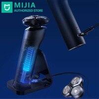 Xiaomi-máquina de afeitar eléctrica Mijia S700 para hombre, afeitadora lavable y recargable con cabezal de corte, cuchilla de cerámica