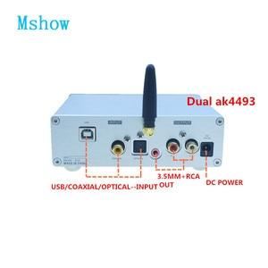 Image 2 - Dual AK4493 SU9 + บลูทูธ 5.0 + Amanero USB DAC Decoder สนับสนุน DSD HIFI Digital TO Analog Audio Converter สำหรับเครื่องขยายเสียง