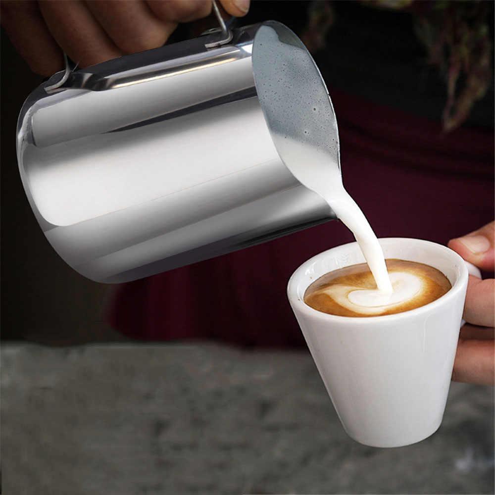 สแตนเลสสตีลนม Frother กาแฟ LATTE คอนเทนเนอร์เหยือก Art เหยือกดึงกาแฟถ้วยกาแฟ 150 ml/350 ml /600 ml/1000 ml