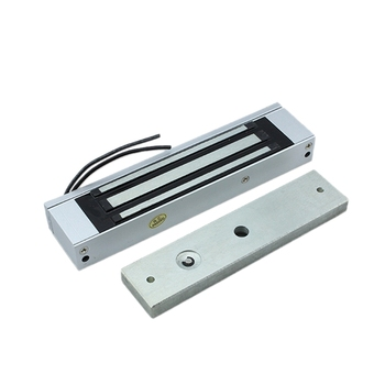 Single Door 12V Electric Magnetic Electromagnetic Lock 180KG (350LB) Holding Force for Access Control 280kg 600lb single door 12v electric lock for door magnetic electromagnetic lock holding force for access control with feedback