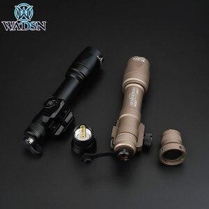 Image 4 - Airsoft Surefir טקטי M600 M600C Armas סקאוט אור לפיד LED 340lumes Softair חיצוני ציד רובה נשק פנס
