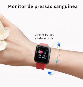 Image 4 - 116 בתוספת חכם שעון גשש כושר קצב לב שעון לחץ דם מד צעדים שעון חכם שינה צג עמיד למים חכם להקה