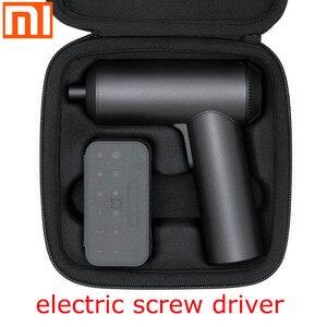 Image 1 - Xiaomi destornillador eléctrico mi home Original, 5nm, alto torque, carga de 2000mAh, industria doméstica, 12 piezas, tornillos S2