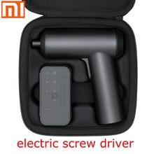 Xiaomi mi chave de fenda elétrica, chave de fenda elétrica original 5n. m de alto torque, 2000mah de carregamento, indústria doméstica, 12 peças, parafusos s2