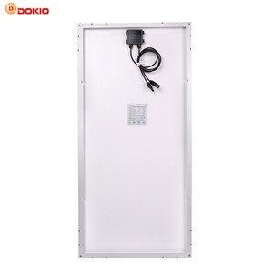 Image 2 - Dokio 12v 100ワット剛性ソーラーパネル中国18 18v単結晶シリコン防水ソーラーパネル充電 # DSP 100M