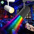 18 Вт 30 Вт RGB светодиодная дорожка KTV сценическая фоновая лампа дистанционное управление железнодорожное освещение 110 В 220 В для магазина одеж...