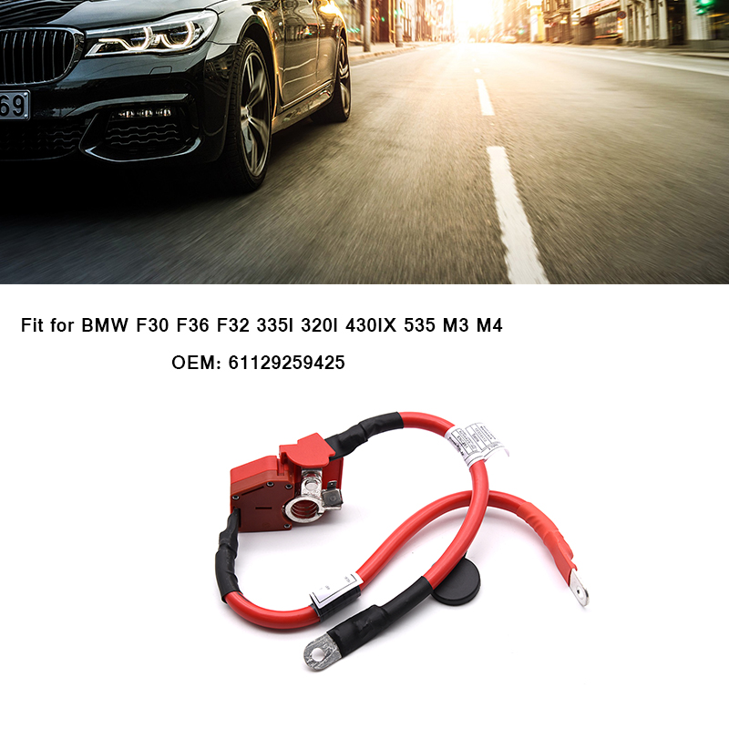 Positive Car Battery Protector Wire Cable Line 61129259425 for BMW F30 F36 F32 335I 320I 430IX 535 M3 M4 328I Battery Cable