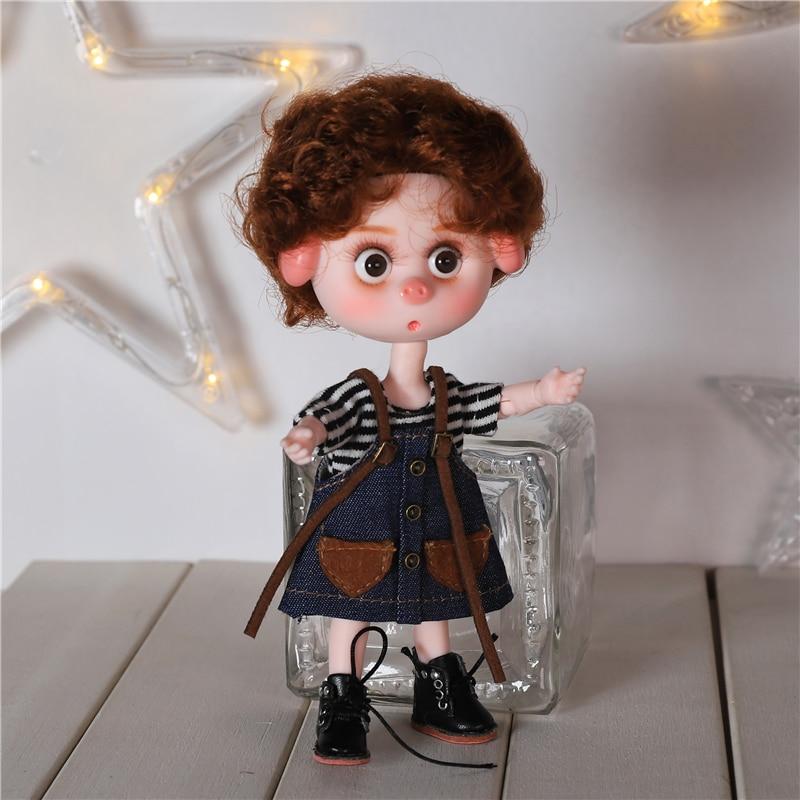 DBS Dream Fairy 1/12 BJD DODO doll 15cm doll toy ob11 mini doll with clothes shoes 8