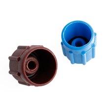 2pcs R134a Auto AC A/C Valve Cap Refrigerant Valve High/Low Voltage Dust Cover
