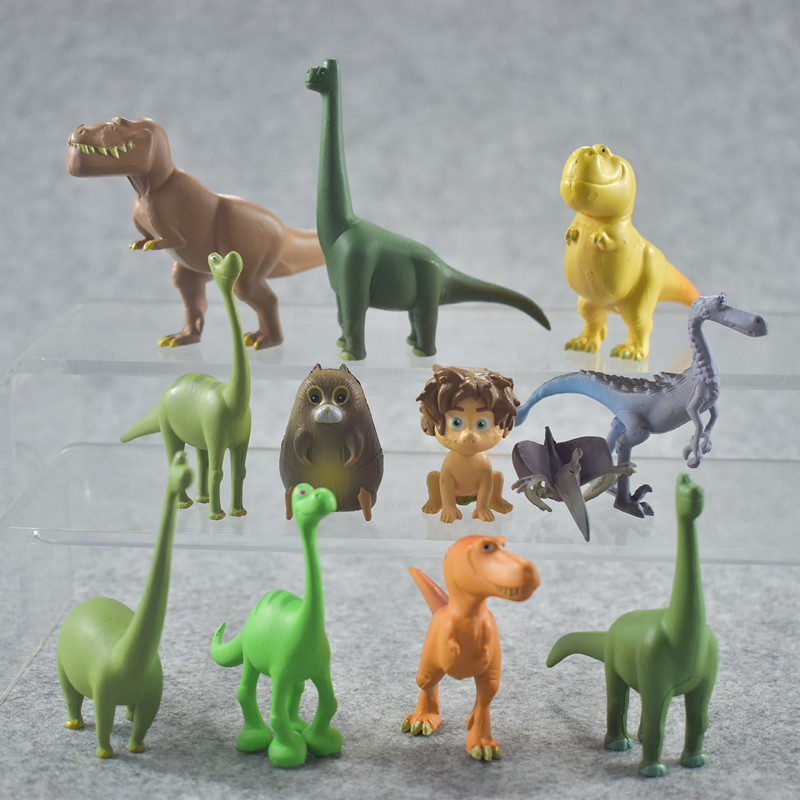 12 Pcs Kids Dinosaur Animal Series Model Doll Toy For Children Action Figure Toys Pparty Gift Boys Educational Toy Hot Sale image