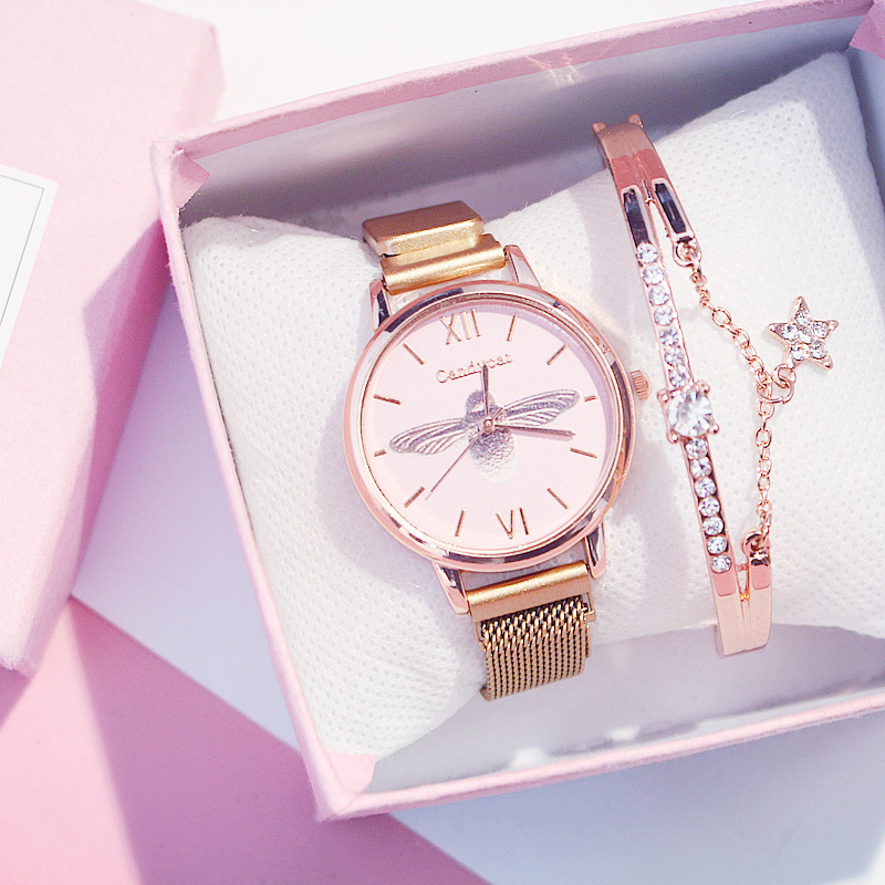 Luxury Women Watches Female Clock Quartz Wristwatch Fashion Ladies Wrist Watch Reloj Mujer Relogio Feminino Distinguished Ladies