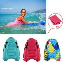 60x80cm enfants gonflables Bodyboards enfants léger doux Mini planches de surf piscine extérieure plage flottant tapis tapis flotteur