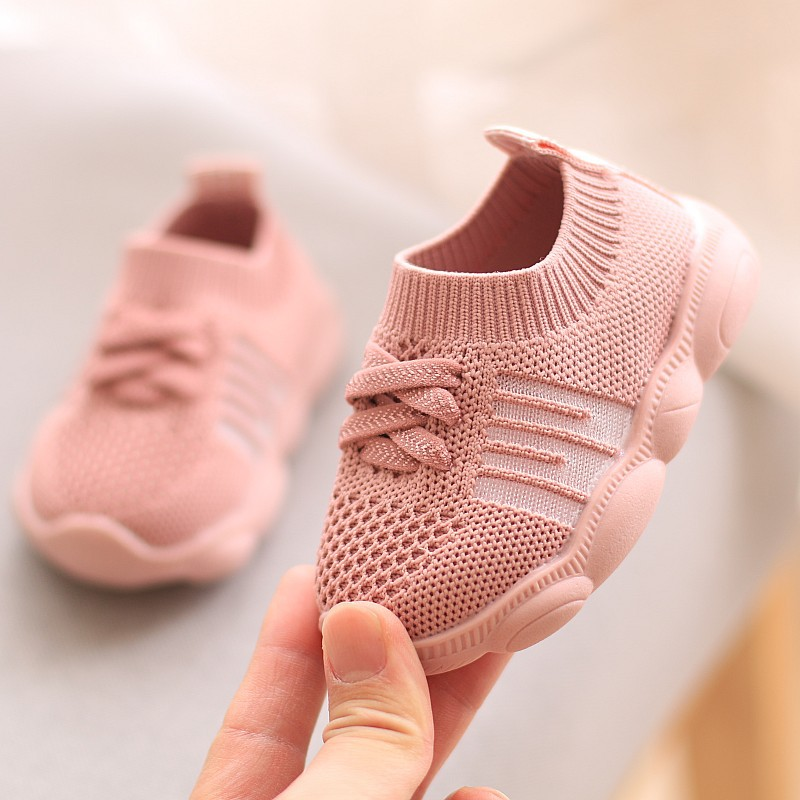 2020 New For 0-2 Years Old Baby Shoes Toddler Girls Sneakers Baby Boys First Walkers Kids Fashion Sneakers Infant Shoes