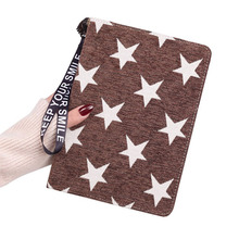 Case For Ipad Mini 4 Pentagram Cotton Fabric Tablet Cover Auto Wake Up/Sleep Stand Smart 8 Inch