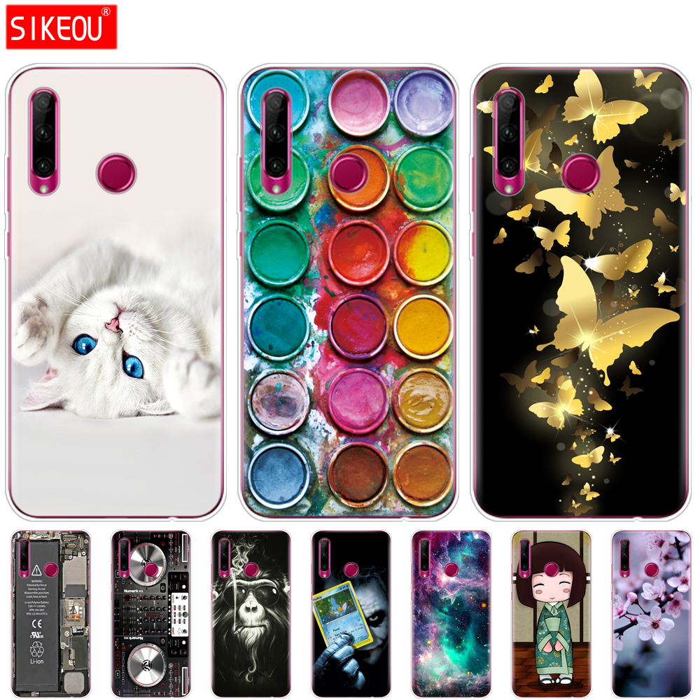 Honor 10i Case Honor 10i HRY-LX1T Case Silicon Tpu Back Cover Phone Case For Huawei Honor 10i Honor10i 10 I 6.21 Inch