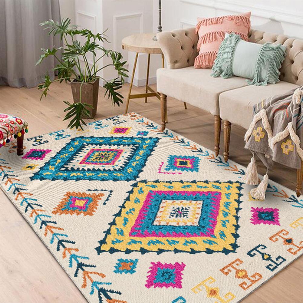 TPFOCUS Nordic Style Floor Mat Carpet Antiskid Soft 100*160CM Thicker Area Rug For Living Room Home Decoration Accessories