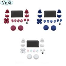 YuXi Full Set Touchpad Buttons Trigger L1 R1 L2 R2 Repair Parts for Sony PS4 Pro Slim for Dualshock 4 Controller jds 040 JDS 040
