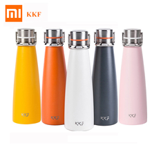Xiaomi KKF Vacuum Bottle 24h Insulation Cup Thermoses Stainless Steel Thermos Flask 475ML Travel Mug Portable Sports Cup