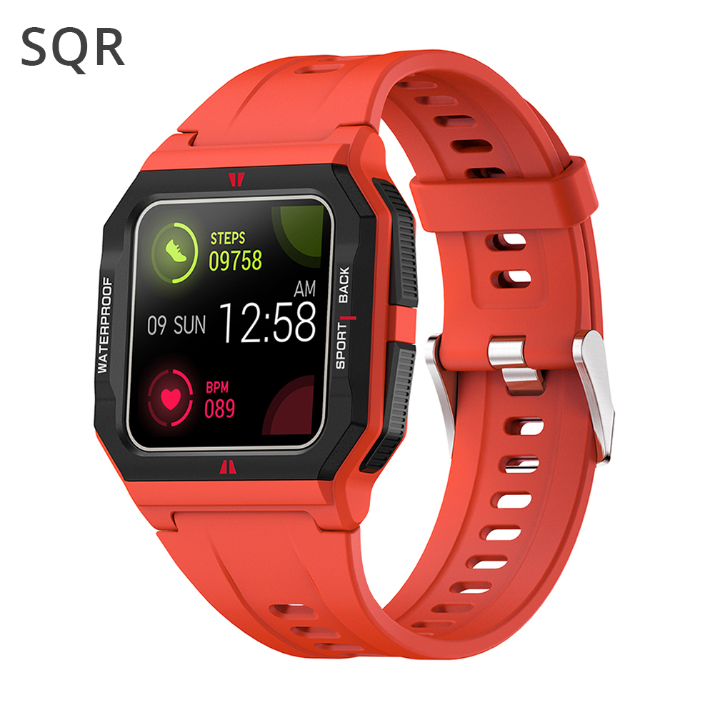 Смарт-часы SQR 2021 P10, 13 спортивных режимов, фитнес-трекер для измерения сердечного ритма IP67, водонепроницаемые, Full Touch, Смарт-часы для iOS, Android