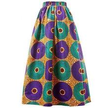 Африканский Воск для печати юбка женщин в африканском стиле