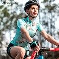Santic Frauen Radfahren Short Jersey Pro Fit Damen Straße MTB Bike Fahrrad Jersey Kurzarm Sommer Asiatische Größe S-XL L8C02136