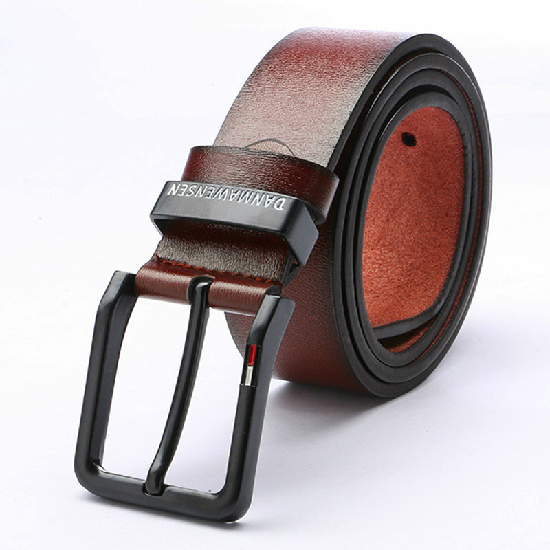 High Quality Designer Belts Luxury Brand Mens Leather Belt Alloy Material Pin Buckle Business Retro Men's Jeans Wild