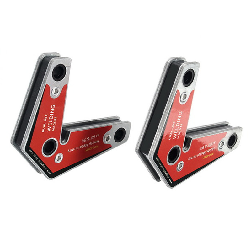 Fixer Holders 2pcs Solder Angle Magnet MW3 Positioner 6090S Arrow Strong Magnetic Auxiliary Welding Ferrite Tool Multi Locator