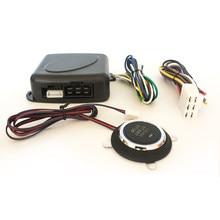 Carro uma chave iniciar keyless um sistema de ignição do motor do sistema de partida chave 12v ignição automática
