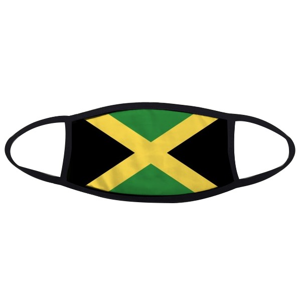 Jamaica National Flag North America Country Symbol Mark Pattern Face Anti-dust Mask Anti Cold Maske