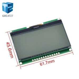 Image 2 - Great zt Lcd12864 12864 06D, 12864, وحدة LCD, COG, مع الخط الصيني, شاشة مصفوفة نقطة, واجهة SPI
