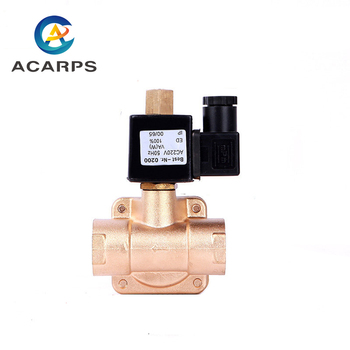DN32 1-1/4inch 12v Solenoid Air Valve High Pressure 16 bar
