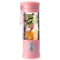 Copo de juicing seguro elétrico de usb  liquidificador de suco de frutas  mistura de viagem  mini carregamento portátil/mistura de juicing esmagando liquidificador de gelo  420-5