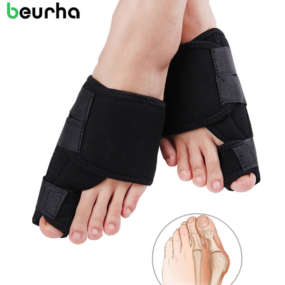 Beurha Bunion Corrector Medical Device Hallux Valgus Foot Care Toe Separator Thumb Valgus Protector Splint Correction Feet Tool orthopedic bunion corrector reviews