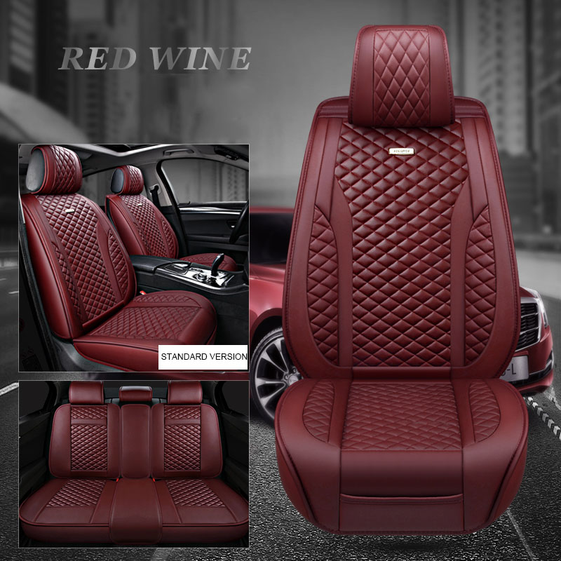 2 BLACK HIGH QUALITY FRONT CAR SEAT COVERS PROTECTORS FOR FIAT 500