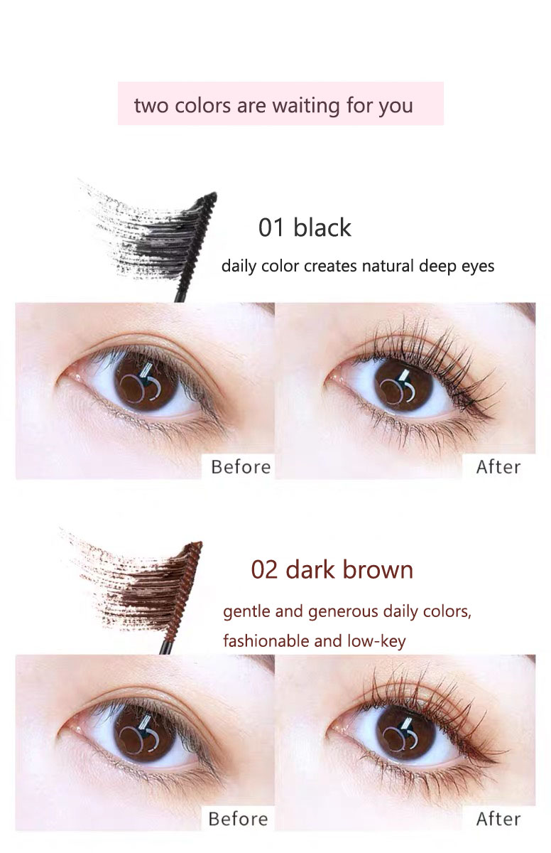 3d Silk Fiber Mascara Natural Ingredients 5