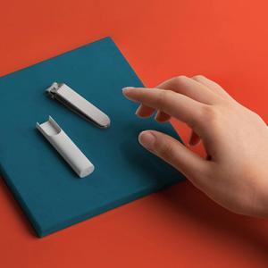 Image 5 - מקורי Xiaomi Mijia נירוסטה קוצץ ציפורניים עם אנטי splash כיסוי גוזם פדיקור טיפול מקצועי קוצץ קובץ