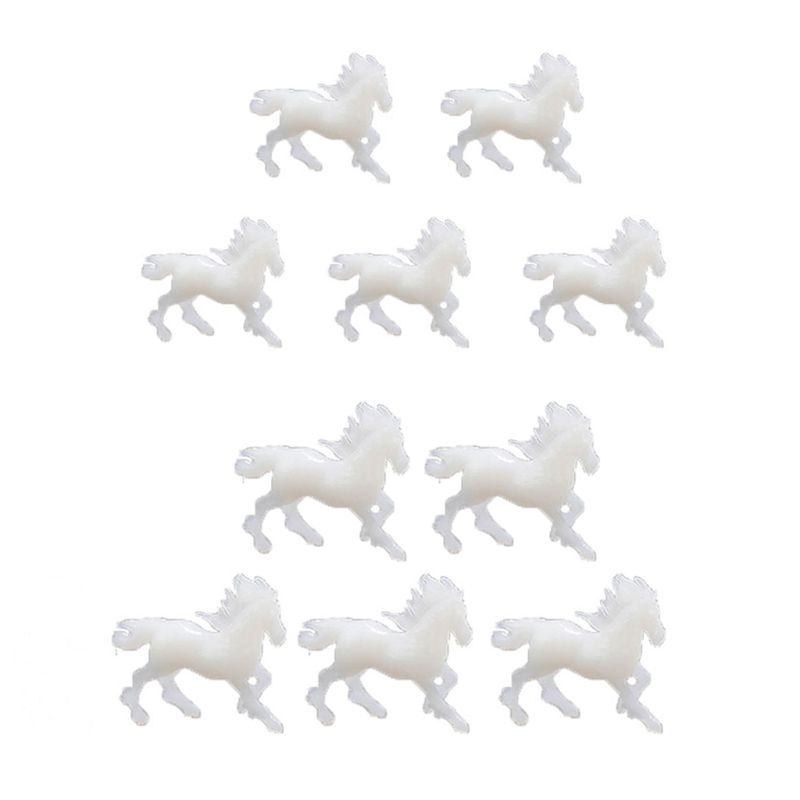 5Pcs Silicone Running Horse Model Resin Mold Landspace Resin Jewelry Fillings