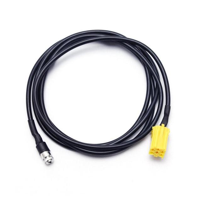 Connecteurs à 6 broches pour adaptateur | Mini autoradio ISO câble dadaptateur pour Alfa Romeo/Fiat/Lancia 3.5mm ligne AUX prises